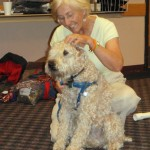 Hobbes with Linda Tellington-Jones
